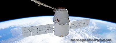 SpaceX Dragon Spacecraft at International Space Station (ISS) Picture