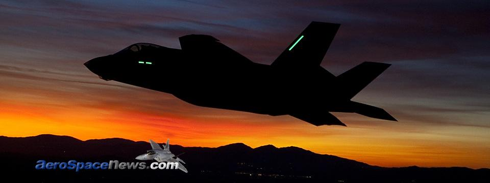 F-35A Lightning II Joint Strike Fighter First Night Flight Picture