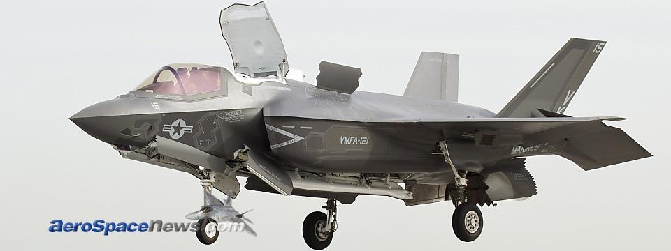First F-35B Vertical Landing MCAS Yuma Picture