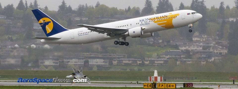 MIAT Mongolian Airlines Boeing 767-3ER Picture