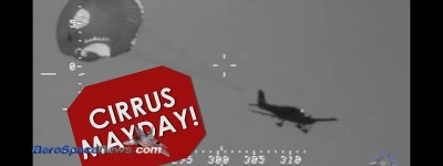 Video of Cirrus SR-22 Ditching In Ocean Near Hawaii Under Parachute
