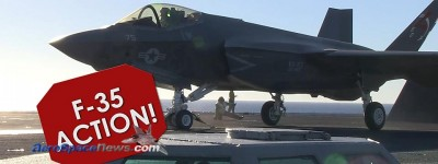 F-35 Video – F-35C Aircraft Carrier Operations – Joint Strike Fighter JSF Lightning II