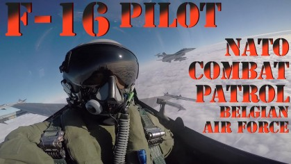 F-16 In Action Video - Belgian Air Force NATO Patrol - Aerospace News Military Video