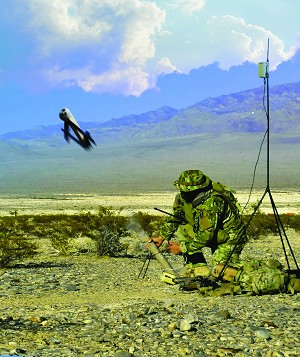 AeroVironment Switchblade Tactical Missile