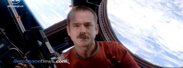 Commander Chris Hadfield Sings Space Oddity