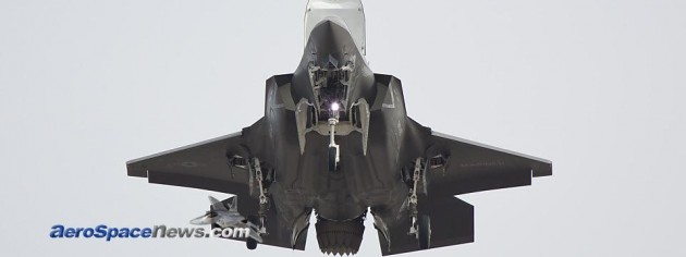 F-35B First Vertical Take Off Video