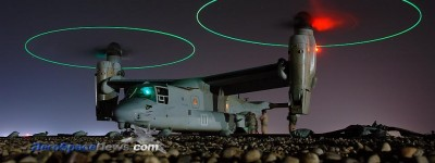 Hot Pic MV-22 Osprey Tiltrotor Picture – Night – Iraq – Free Wallpaper Picture