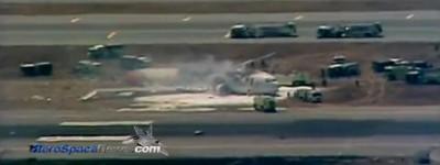 Asiana Boeing 777 Plane Crash At San Francisco