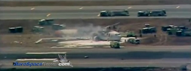 Asiana Boeing 777 Plane Crash At San Francisco