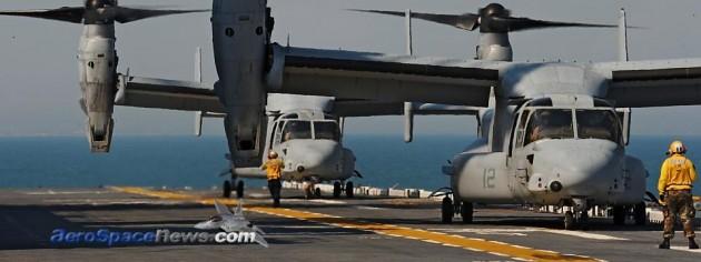 MV-22 Osprey Tiltrotor Hard Landing At Creech AFB