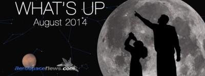 August 2014 Stargazing – Skywatching – Astronomy Night Sky