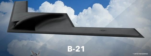 Stealth Air Force Boeing B-21 Long Range Strike Bomber Unveiled [ Picture ]