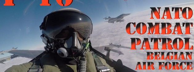 F-16 In Action Video – Belgian Air Force NATO Patrol – Aerospace News Military Video
