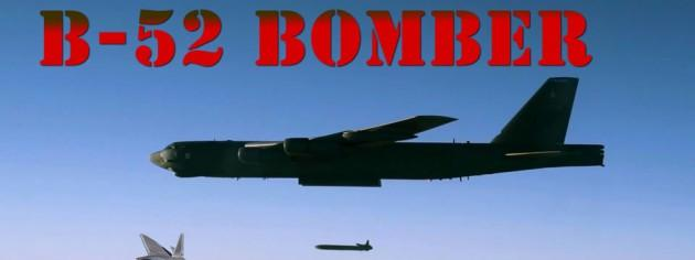 B-52 Stratofortress Bomber In Action Video Replacing B-1 Lancer In CENTCOM Operation Inherent Resolve Against ISIL