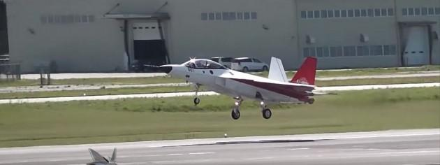 Japanese Stealth Fighter X-2 (ATD-X) First Flight Video