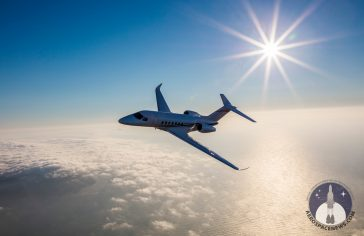 Cessna Citation Longitude Air-to-Air Picture