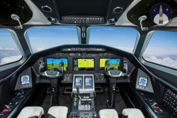Cessna Citation Longitude Cockpit Picture Image