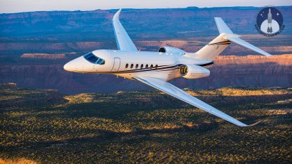 Cessna Longitude FAA Certified Air-to-Air Picture Aviation News