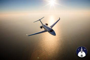 Citation Longitude Air-to-Air Picture