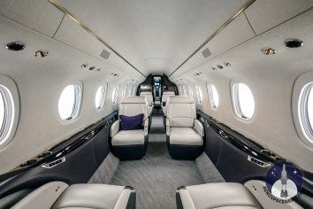 Cessna Citation Longitude Interior Image