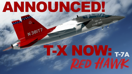 Boeing USAF T-X Will Be Called The T-7A Red Hawk [Video]