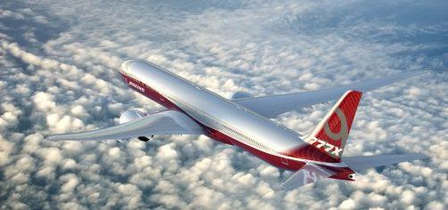 Boeing 777X First Flight Image