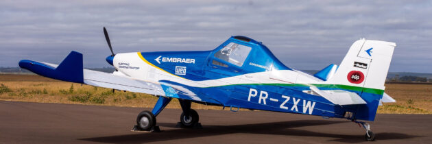 Embraer Teams With EDP On Electric EMB-203 Ipanema Aviation Demo Program
